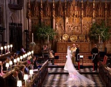Incredibil! Nunta regala dintre Printul Harry si Meghan Markle s-a tinut  fara familii...