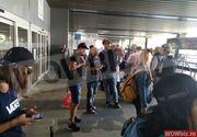 """Romanii din Madrid s-au pozat cu concurentii de la Exatlon pe aeroport! """"Vamos Vulturii!"""""""