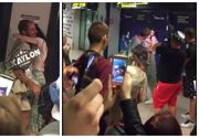 Imagini superbe! Aceasta a fost cea mai emotionanta revedere de la Exatlon. Cum a reactionat Vladimir Draghia cand si-a vazut fetele la aeroport?
