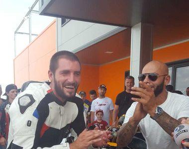 Catalin Cazacu, victorie uriasa la revenirea in circuitul de motociclism, dupa...