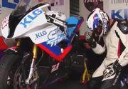 Catalin Cazacu, in genunchi langa motocicleta, inainte de prima cursa dupa revenirea de la Exatlon! Ce ritualuri are Faimosul! VIDEO EXCLUSIV