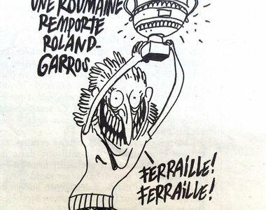 Cele mai tari recenzii pe pagina Charlie Hebdo, dupa ironia la adresa Simonei Halep!...