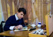 Cafeaua din Romania a ajuns la Hollywood! Un roman face tablouri pictate in cafea!