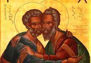 Sarbatoare mare astazi! Traditii si obiceiuri de Sfintii Petru si Pavel. Ce nu au voie femeile sa faca sub nicio forma in aceasta zi