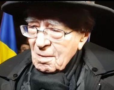 Filosoful Mihai Sora a fost externat din spital. Anuntul a fost facut chiar de sotia sa
