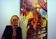 Silvia Stroescu de la Exatlon este o mare pasionata de pictura! Faimoasa a vizitat o galerie de arta si s-a pozat langa tablourile preferate!