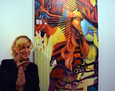 Silvia Stroescu de la Exatlon este o mare pasionata de pictura! Faimoasa a vizitat o...