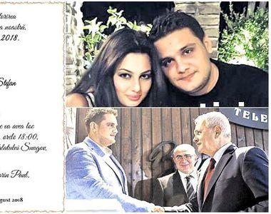 Detalii despre cea mai asteptata nunta a anului in politica! Fiul lui Liviu Dragnea isi...