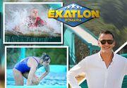 """""""Monstrul turcoaz"""" de la Exatlon: cum arata in realitate toboganul care le-a facut atatea probleme concurentilor la prima editie din sezonul 2"""