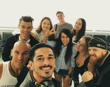 Primele imagini cu atletii de la EXATLON in drum spre Republica Dominicana! Fotografii...