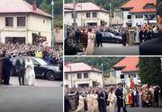 Primele imagini cu fostul principe Nicolae si Alina Binder, din ziua nuntii. Cum arata rochia de mireasa - EXCLUSIV