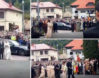 Primele imagini cu fostul principe Nicolae si Alina Binder, din ziua nuntii. Cum arata...