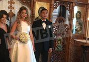 Primele imagini de la nunta lui Cristi Borcea cu Valentina Pelinel! Iata ce tinute au purtat in cea mai importanta zi din viata lor