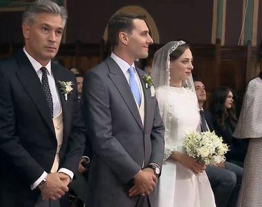 Alexandra Dulgheru, prezenta superba la nunta principelui Nicolae de la Sinaia....