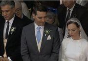"""Imagini de senzatie cu """"dansul mirilor"""" de la nunta fostului principe Nicolae cu Alina! Mireasa a purtat o rochie extrem de sexy"""