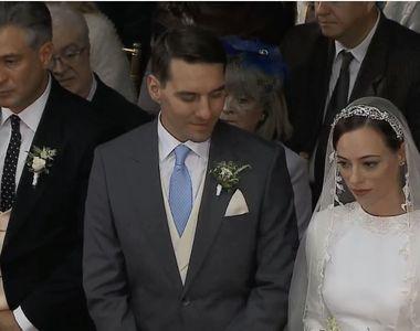"""Imagini de senzatie cu """"dansul mirilor"""" de la nunta fostului principe Nicolae..."""