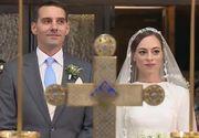 Principele Nicolae si Alina au avut un nas celebru! Un Masterchef din Romania a fost cel care i-a cununat pe cei doi - El a fost cel care a dat sfaturi legate de meniu