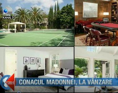 Conacul în care Madonna a trăit mai bine de 10 ani, scos la vânzare pe o sumă...