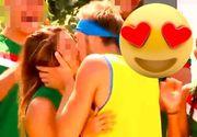 Idilă interzisă la Exatlon! Războinicul Iulian, sărut fierbinte cu o concurentă din echipa Mexicului! Momente superbe, diseară, la Exatlon!