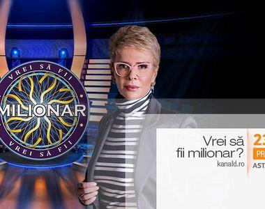 "Astazi, de la 23:00, Teo Trandafir da startul noului sezon ""Vrei sa fii milionar?"", la..."