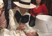 Ce ţinută a purtat Adelina Pestriţu la botezul fiicei sale! A lăsat pe toată lumea cu gura căscată