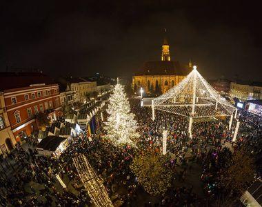 Un târg de Crăciun din România,  în topul celor mai frumoase din Europa