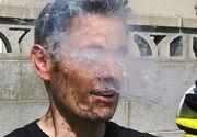 Ce se intampla cand iti arunci nitrogen lichid in fata? Experimentul care i-a lasat pe multi cu gura cascata!