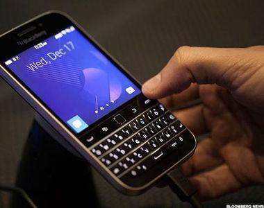 BlackBerry Clasic dispare. Firma renunta la cel mai cunoscut telefon al sau, insa vine...