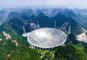 S-a construit cel mai mare radio telescop din lume ce va incepe sa caute semnalele extraterestre. Unde este amplasat si cine il detine