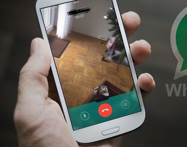 WhatsApp a relansat optiunea apel video din versinea Beta. Ce trebuie sa stiti inainte...