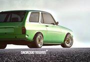 Sa fie asta viitorul model Dacia? Un break care copiaza celebra Dacia 1300. Cum arata
