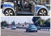 Politia Capitalei are in dotare masinute electrice. Cum arata masinile cu care vor patrula politistii in urmatoarea luna