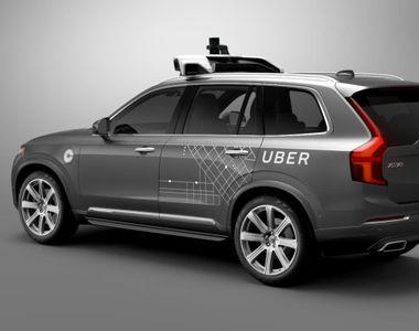 Volvo a convenit o alianţă de 300 milioane dolari cu Uber pentru vehicule autonome
