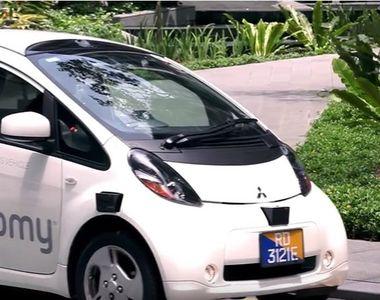 Asa arata viitorul! Primele taxiuri care se conduc singure au aparut pe strazi. Unde...