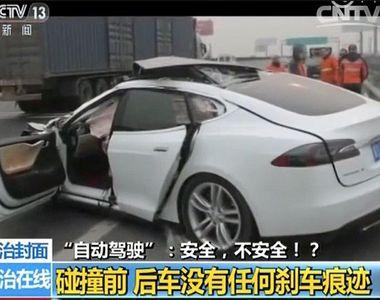 Accident fatal produs de o masina Tesla care era condusa de catre un pilot automat. Un...