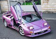 Lamborghini Diablo, masina violet aparuta intr-un celebru videoclip din 1996, a fost scoasa la vanzare!