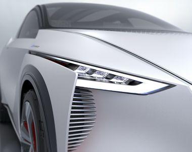 Nissan a prezentat un concept de masina electrica ce avertizeaza pietonii cu ajutorul...