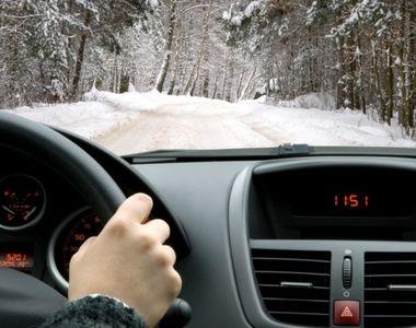 Cum să conduci preventiv iarna! Tot ce trebuie să ştii despre şofat în anotimpul rece