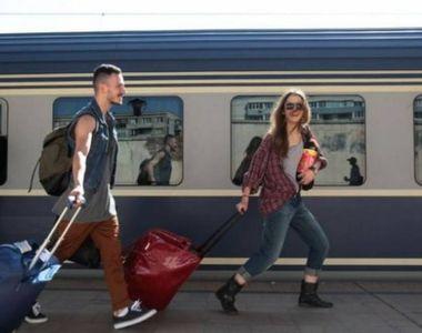Wi-fi gratuit in trenurile spre mare. Orange ofera internet in garniturile de pe ruta...