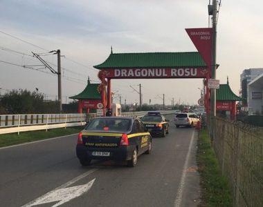 Complexul comercial Dragonul Rosu, luat la verificari de zeci de inspectori ANAF....