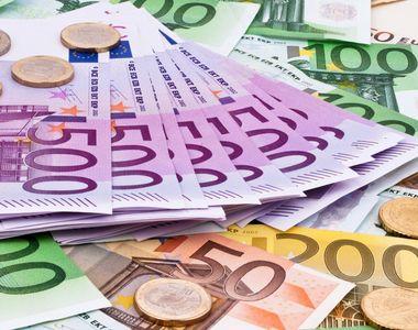 Euro, nivel maxim al ultimelor 4 luni si jumatate. BNR a afisat un curs de 4,5325