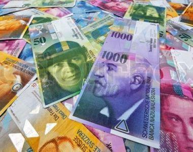 Tribunalul Bucuresti a decis inghetarea cursului la franci elvetieni la 2,1 lei, pentru...