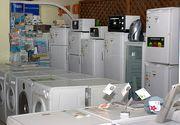 Romanii au cheltuit in primele sase luni ale acestui an aproape un miliard de euro pe televizoare, frigidere si aragazuri