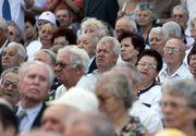 Numarul de pensionari a scazut cu 47.000 în ultimul an, iar pensia medie a crescut cu 5,7%