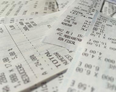 Loteria bonurilor fiscale. Cei care au bonuri fiscale de 187 de lei emise pe 27 aprilie...