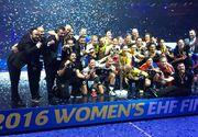 Fetele de la CSM Bucuresti au primit 300.000 de euro ca premiu pentru castigarea Ligii Campionilor! La fotbal suma se ridica la peste 50 de milioane de euro!