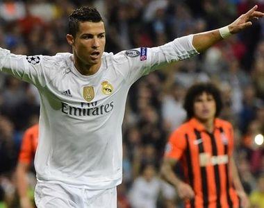 Cristiano Ronaldo a donat mai bine de jumatate din prima obtinuta pentru castigarea...