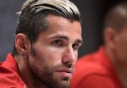 Veste buna pentru nationala Romaniei! Elvetianul Valon Behrami este incert pentru prima partida de la Euro!
