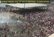 Razboiul suporterilor de la Euro 2016. A curs sange pe strazile din Marsilia, zeci de oameni sunt raniti. Imagini cu un puternic impact emotional