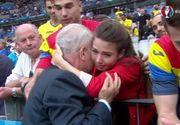"""Fiica lui Anghel Iordanescu a trait intens meciul cu Franta: """"Am izbucnit in plans cand tata a venit si m-a luat in brate"""""""